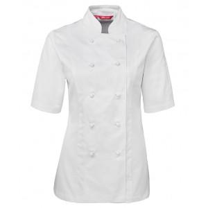 Ladies S/S Chef's Jacket