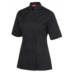 Ladies Vented S/S Chef's Jacket
