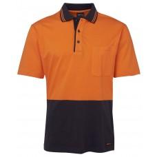Hi Vis S/S Cotton Polo