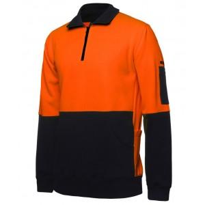 Hi Vis 330G 1/2 Zip Fleece