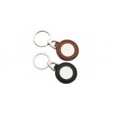 Leather & Metal Key Rings