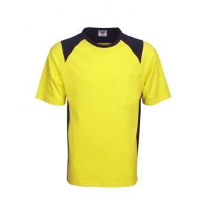 S84 T84 100% Cotton Hi Vis T-shirt