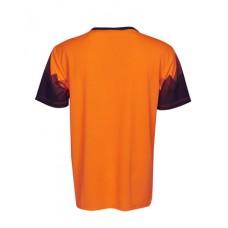 T85Triangular Design Sublimation Printed Hi Vis T-Shirt